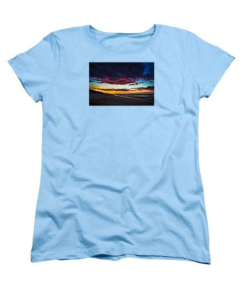 Painted Sky Women's T-Shirt (Standard Cut) by Peter Scott