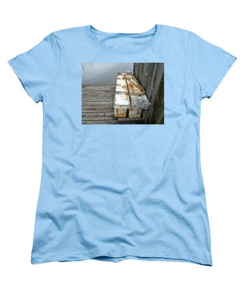 Paired Up Women's T-Shirt (Standard Cut) by Anna Ruzsan