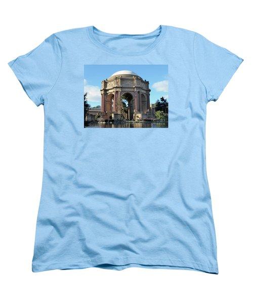 Women's T-Shirt (Standard Cut) featuring the photograph Palace Of Fine Arts by Steven Spak