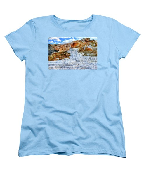 Palette Steps Women's T-Shirt (Standard Cut) by Greg Norrell