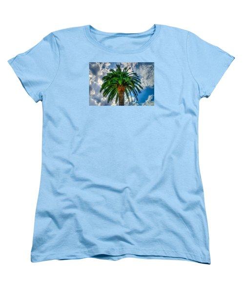 Palm Women's T-Shirt (Standard Cut) by Derek Dean