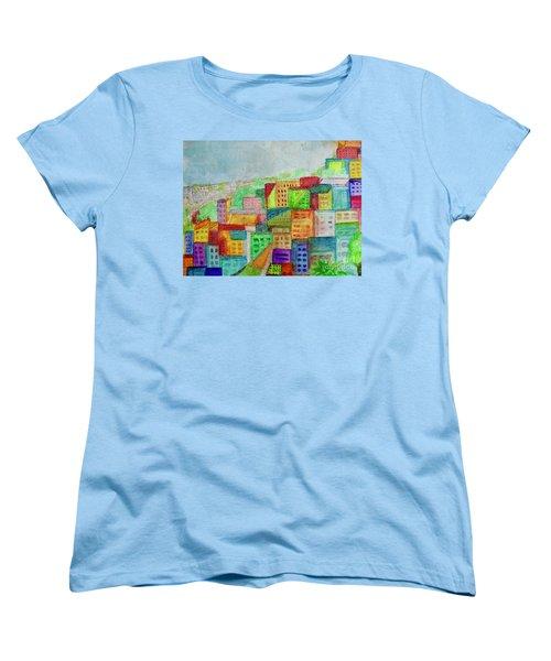 Palmyra Women's T-Shirt (Standard Cut) by Kim Nelson