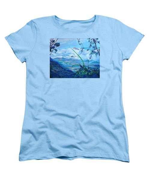 Panama. Anton Valley Women's T-Shirt (Standard Cut) by Anna  Duyunova