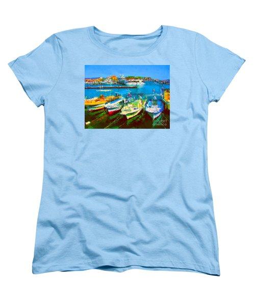 Pangas En Marina Women's T-Shirt (Standard Cut) by Gerhardt Isringhaus