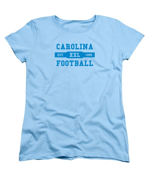Panthers Retro Shirt Women's T-Shirt (Standard Cut) by Joe Hamilton