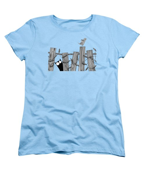 Paper Bird Women's T-Shirt (Standard Cut) by Andrew Hitchen