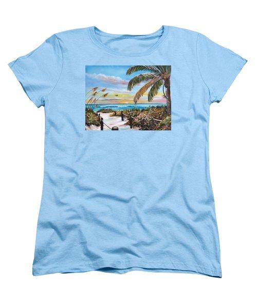 Paradise Women's T-Shirt (Standard Cut) by Lloyd Dobson