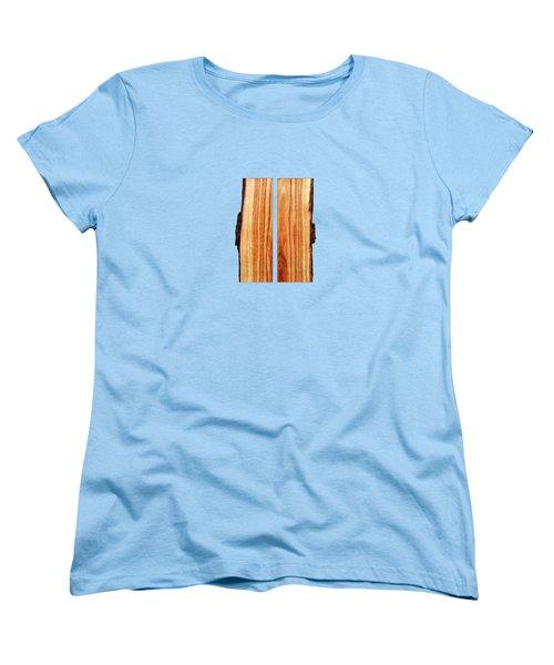 Parallel Wood Women's T-Shirt (Standard Cut)