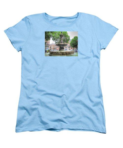 Paris Fontane Women's T-Shirt (Standard Cut) by Yury Bashkin