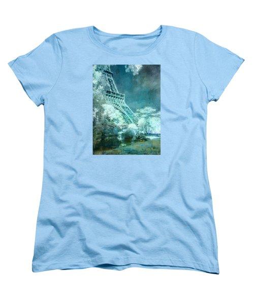 Parisian Dream Women's T-Shirt (Standard Cut) by John Rivera