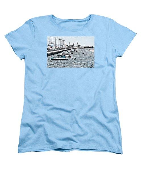 Parked And Waiting Women's T-Shirt (Standard Cut)