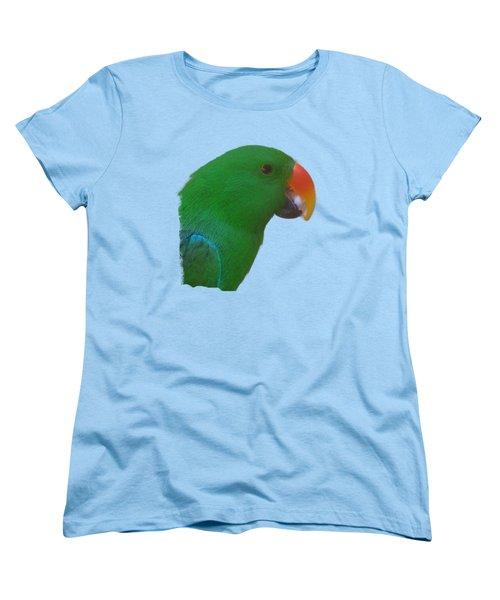 Parrot Head Women's T-Shirt (Standard Cut) by Pamela Walton