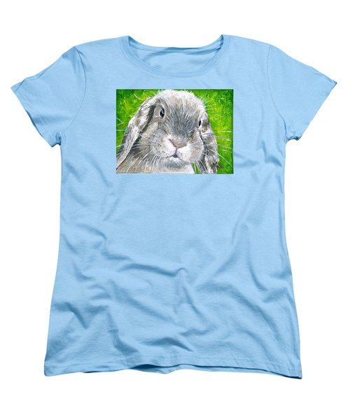 Women's T-Shirt (Standard Cut) featuring the painting Parsnip by Mary-Lee Sanders