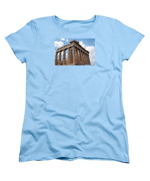 Parthenon Side View Women's T-Shirt (Standard Cut) by Robert Moss