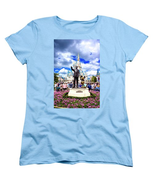 Partners Two Women's T-Shirt (Standard Cut) by Greg Fortier