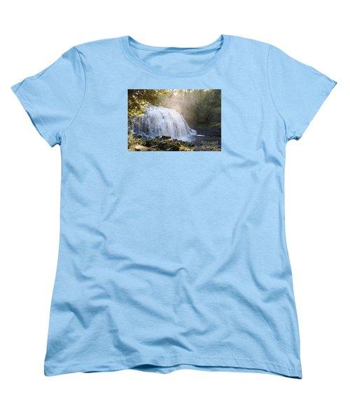 Women's T-Shirt (Standard Cut) featuring the photograph Partridge Falls by Sandra Updyke