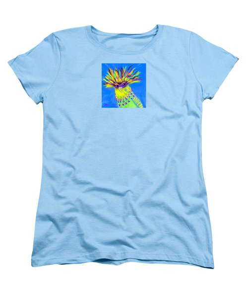 Women's T-Shirt (Standard Cut) featuring the digital art Party Animal by Jean Pacheco Ravinski