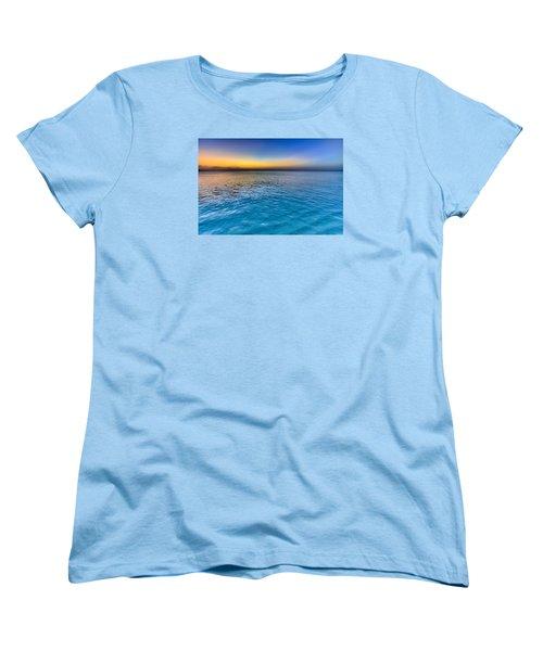 Pastel Ocean Women's T-Shirt (Standard Cut) by Chad Dutson