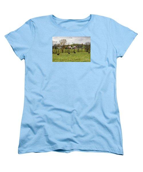 Women's T-Shirt (Standard Cut) featuring the photograph Pastoral by Larry Ricker