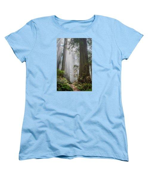 Path Through The Light Women's T-Shirt (Standard Cut) by Greg Nyquist