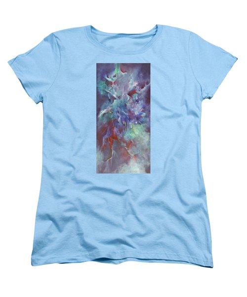 Pathway Of A Prayer Women's T-Shirt (Standard Cut) by Karen Kennedy Chatham