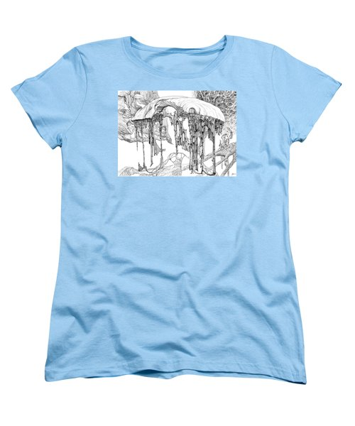 Pavilion Women's T-Shirt (Standard Cut) by Charles Cater