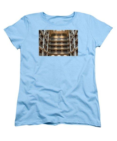 Peabody Library Women's T-Shirt (Standard Cut)
