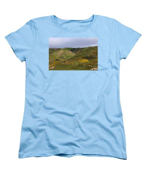 Women's T-Shirt (Standard Cut) featuring the photograph Peace Valley by Viktor Savchenko