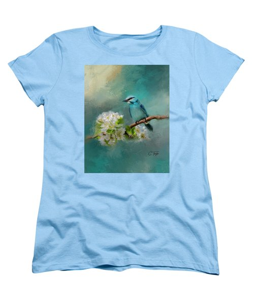 Peaceful Symphony  Women's T-Shirt (Standard Cut) by Colleen Taylor
