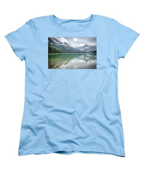 Peaks At Lake Josephine Women's T-Shirt (Standard Cut)