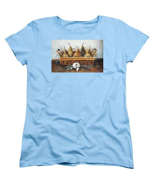 Pears Women's T-Shirt (Standard Cut) by Mikhail Zarovny