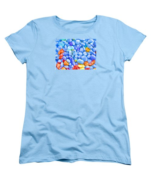 Pebble Delight Women's T-Shirt (Standard Cut) by Andreas Thust