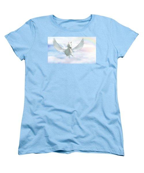 Pegasus Women's T-Shirt (Standard Cut) by John Edwards