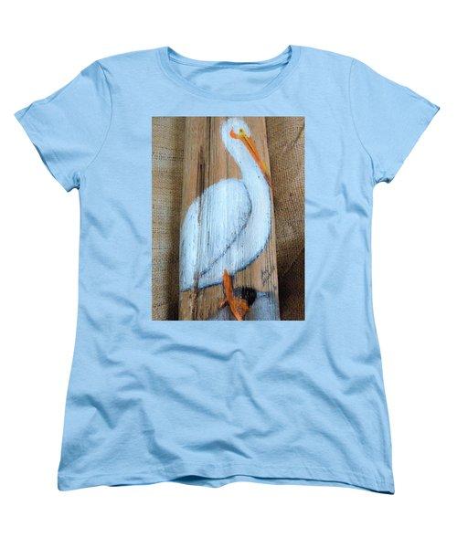 Pelican Women's T-Shirt (Standard Cut) by Ann Michelle Swadener