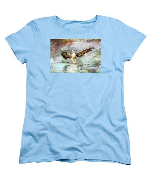 Pelican Art 00174 Women's T-Shirt (Standard Cut) by Kevin Chippindall