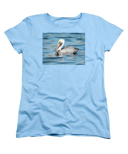 Pelican Relaxing Women's T-Shirt (Standard Cut) by Scott and Dixie Wiley