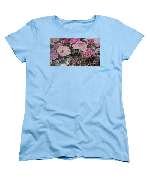 Peony20170126_2 Women's T-Shirt (Standard Cut) by Dongling Sun