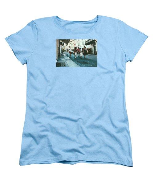 People Women's T-Shirt (Standard Cut) by Cesare Bargiggia