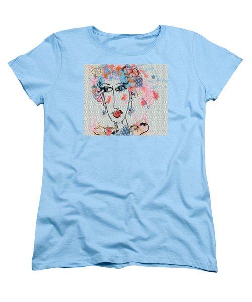 Women's T-Shirt (Standard Cut) featuring the digital art Peppa by Sladjana Lazarevic