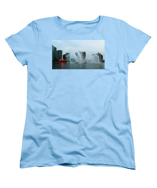 Pepsi Sign And Fdny  Women's T-Shirt (Standard Cut) by Catie Canetti