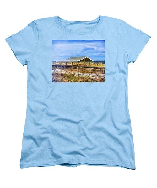 Perdido  Women's T-Shirt (Standard Cut) by Carlos Avila