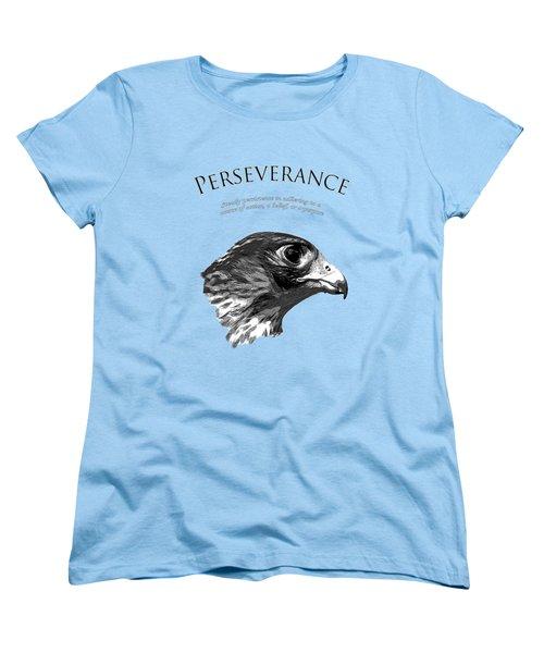 Peregrine Falcon Tashunka Women's T-Shirt (Standard Cut)