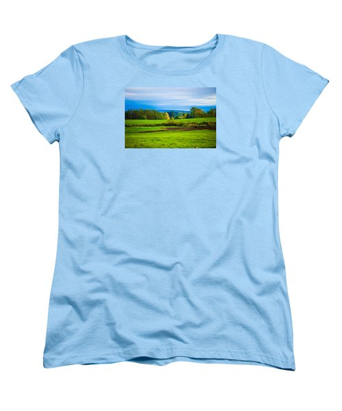 Perfect Place For A Meadow Women's T-Shirt (Standard Cut)