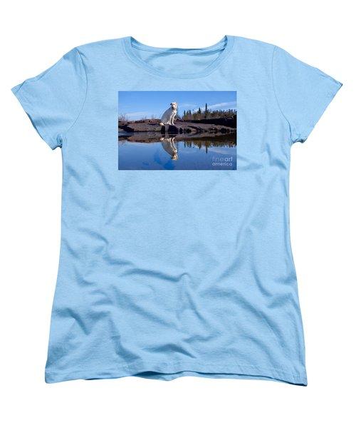 Perfect Reflections Women's T-Shirt (Standard Cut) by Sandra Updyke