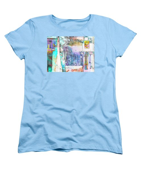 Women's T-Shirt (Standard Cut) featuring the photograph Performance Arts by Susan Stone
