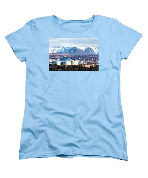 Perlan Women's T-Shirt (Standard Cut) by Wade Courtney