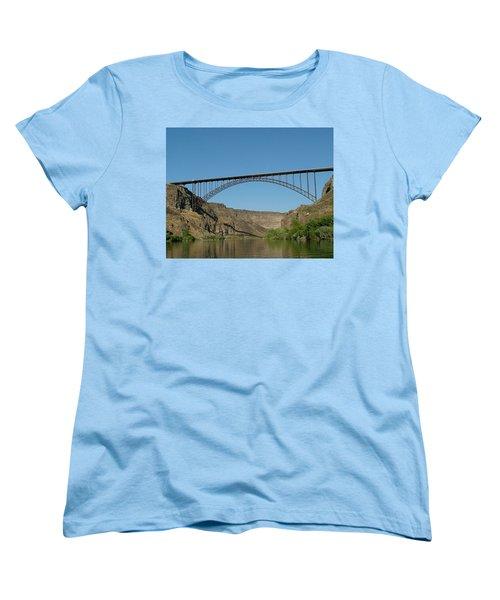 Perrine Bridge Women's T-Shirt (Standard Cut)