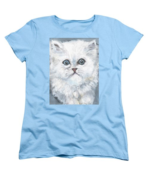 Persian Kitty Women's T-Shirt (Standard Cut) by Jessmyne Stephenson
