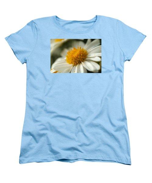 Petals And Pollen Women's T-Shirt (Standard Cut) by Michael McGowan