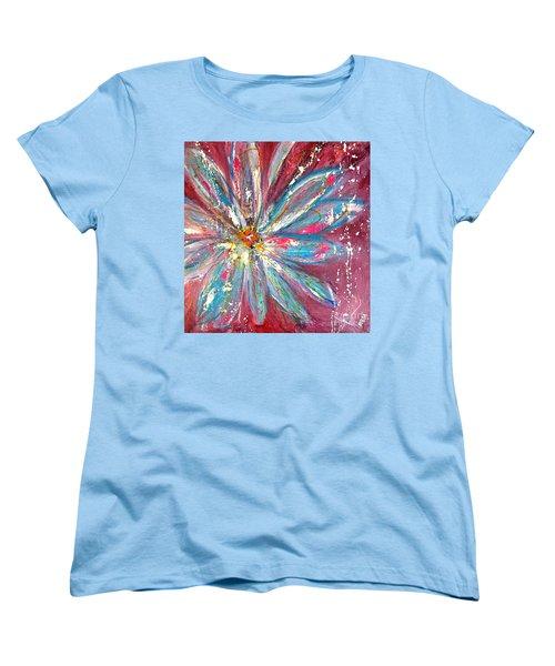 Petals Exploding Women's T-Shirt (Standard Cut)